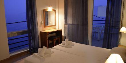 Tvårumslägenhet på hotell 9 Muses i Agios Nikolaos på Kreta.