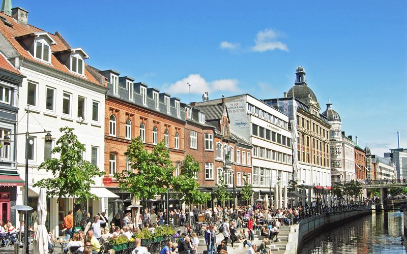 Aarhus och södra Jylland