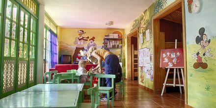 Barnklubb på hotell Abora Catarina i Playa del Inglés på Gran Canaria.