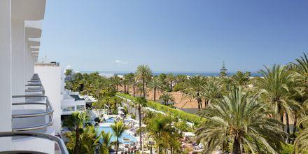 Utsikt från hotell Abora Catarina i Playa del Inglés på Gran Canaria.