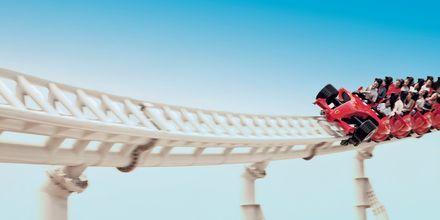Ferrari World Park i Abu Dhabi, Förenade Arabemiraten.