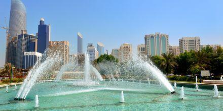 Corniche Park i Abu Dhabi, Förenade Arabemiraten.