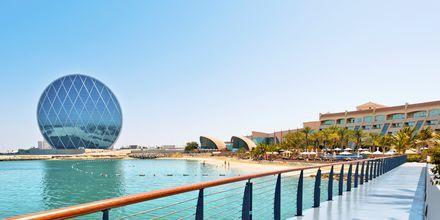 Det finns många häftiga promenadrundor i Abu Dhabi, Förenade Arabemiraten.