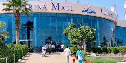 Shoppingcenter i Abu Dhabi, Förenade Arabemiraten.