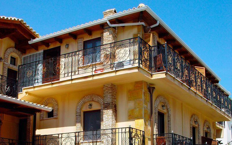 Hotell Acropol i Parga, Grekland.