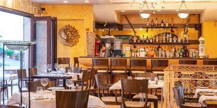 Restaurang Castello på hotell Acropol i Parga, Grekland.