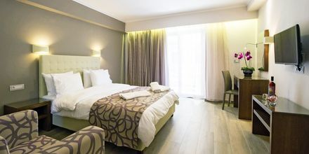 Deluxerum på hotell Adams i Parga, Grekland.