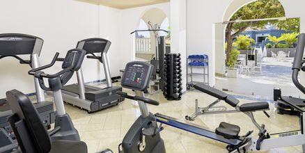 Gym på Hotell Adrian Colon Guanahani i Playa de las Americas, Teneriffa.