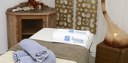 Spa på hotell Aegean Houses på Kos, Grekland.