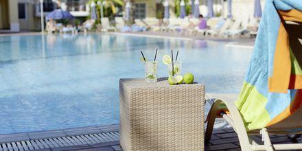 Poolbar på hotell Aegean Houses på Kos, Grekland.
