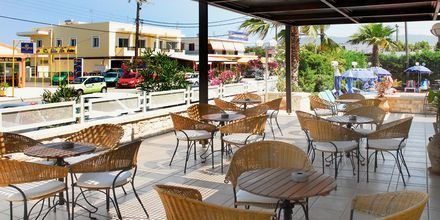 Baren på hotell Aegean Houses på Kos, Grekland.