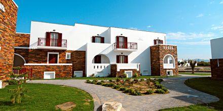 Hotell Aegean Land på Naxos i Grekland.