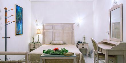 Dubbelrum på hotell Aegean Land på Naxos, Grekland.