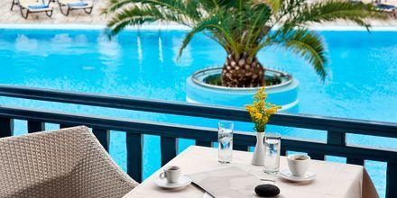 Hotell Aegean Plaza på Santorini, Grekland.