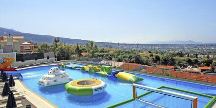 Vattenlandet på Aegean View Aqua Resort i Psalidi.