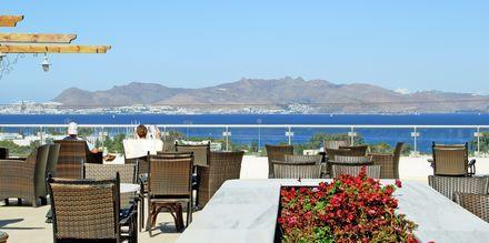 Restaurang på Aegean View Aqua Resort i Psalidi.