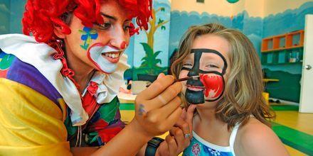 Barnklubb  på Aegean View Aqua Resort i Psalidi.
