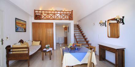 Enrumslägenhet i etage på Aegean View (Santorini).