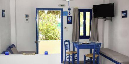 Enrumslägenhet på hotell Aeolos i Karpathos stad.