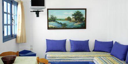 Tvårumslägenhet på hotell Aeolos i Karpathos stad.