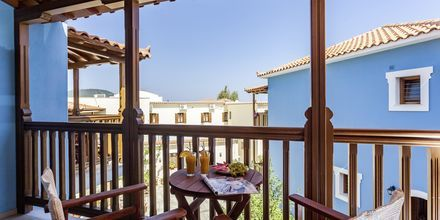 Dubbelrum på hotell Aeolos på Skopelos, Grekland.