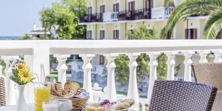 Restaurangen på hotell Aeolos på Skopelos, Grekland.