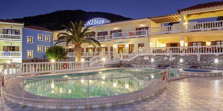 Hotell Aeolos på Skopelos, Grekland.