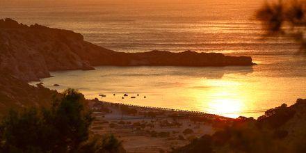 Soluppgång över Tsambikastranden.