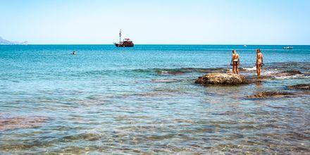 Kolymbiastranden på Rhodos, Grekland.