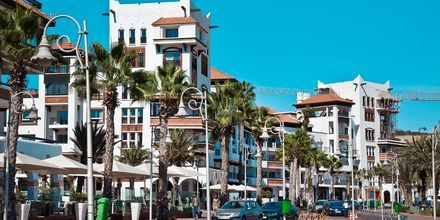 Agadir i Marocko.