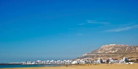 Stranden i Agadir, Marocko.