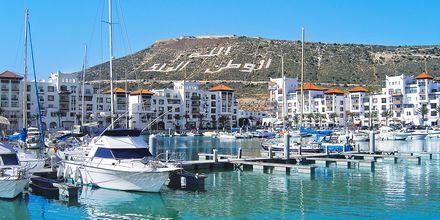 Marinan i Agadir, Marocko.