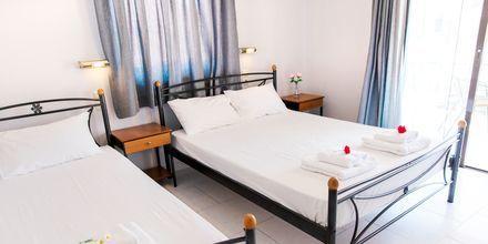 Lägenhet på hotell Aggelos på Lefkas, Grekland.