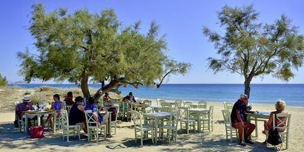Plaka Beach på Naxos i Grekland.