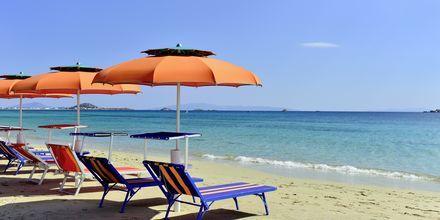 Agia Anna på Naxos, Grekland.