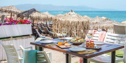 Grekisk mat med utsikt.