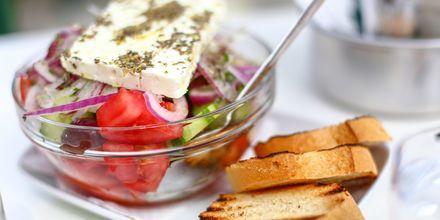 Grekisk sallad.