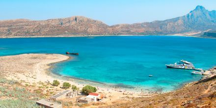 Utflykt till Gramvousa på Kreta.