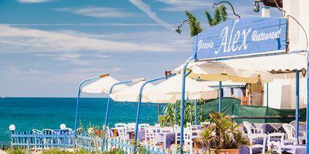 Alexs Restaurant  Agios Georgios på Korfu i Grekland.