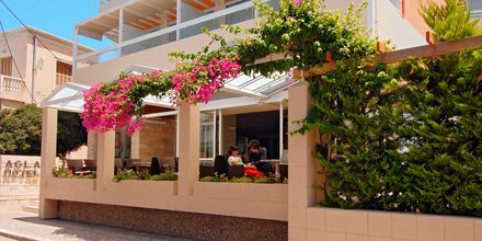 Hotell Agla i Rhodos stad, Grekland.
