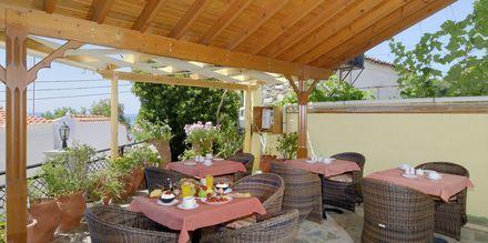 Hotell Agrilionas på Samos.