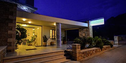 Hotell Aiolos i Stoupa, Grekland.