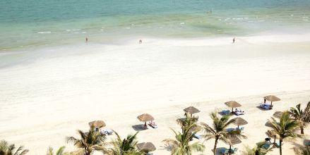 Stranden i Ajman, Förenade Arabemiraten.
