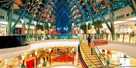 Utflykt och shopping i Dubai Mall i Förenade Arabemiraten.