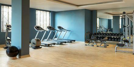 Gym på Ajman Saray, a Luxury Collection Resort i Ajman, Förenade Arabemiraten.