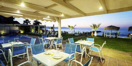 Snackbar på hotell Akoition i Agia Marina, Kreta.