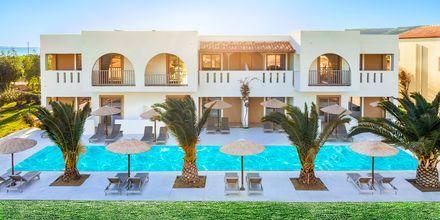 Delade pooler på hotell Akti Beach Club i Kardamena på Kos, Grekland.