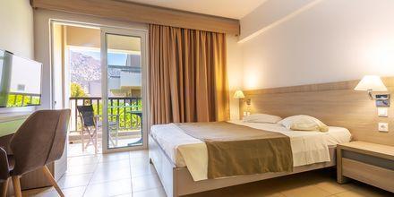 Dubbelrum på hotell Akti Beach Club på Kos, Grekland.