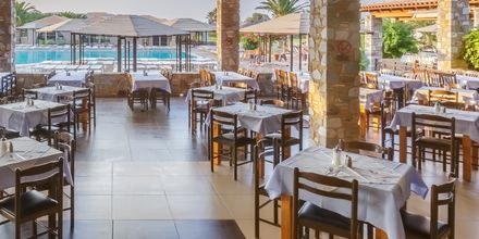 Restaurang på hotell Akti Beach Club på Kos, Grekland.
