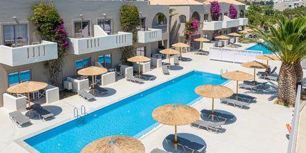Rum med delad pool på hotell Akti Beach Club på Kos, Grekland.